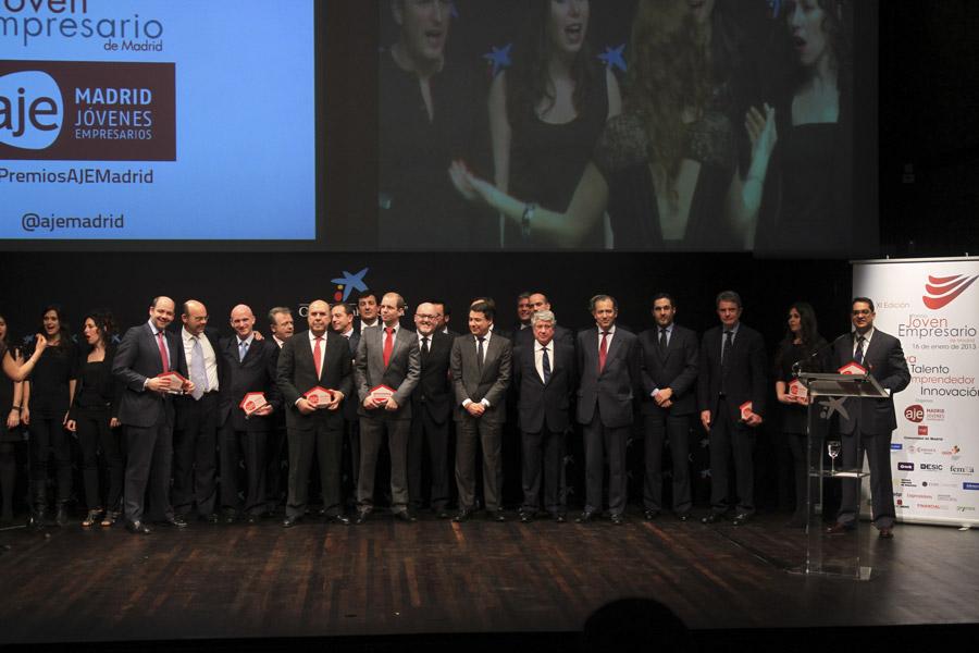 XI Premio Joven Empresario - AJE Madrid