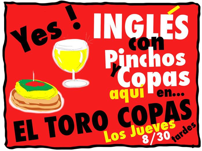 Inglés con Pinchos y Copas en