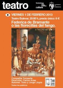 "Torrearte estrena ""Federica de Bramante"" en Torrelodones"
