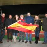Los padres de las torresanas, los que más animaron a las chicas de la Selección Nacional