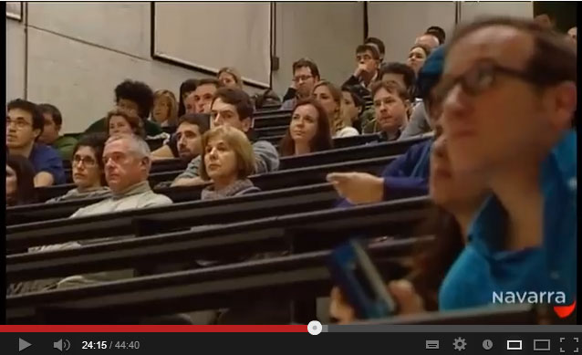 Presentación Vecinos de Navarra (captura video de Navarra Televisión)