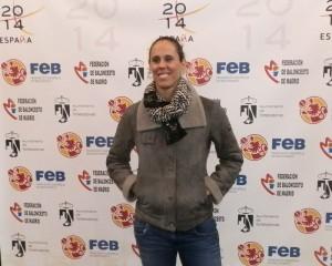 Amaya Valdemoro, internacional española