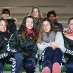 Las chicas del Torre animaron a la Selección Nacional Femenina