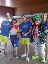 El Grupo de Aquagym de Torrelodones, celebró el carnaval