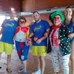 El Grupo de Aquagym de Torrelodones celebró el carnaval