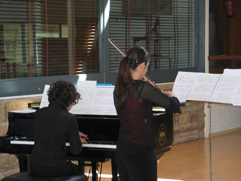 Audiciones de la Escuela Municipal de Música de Torrelodones (Foto: Ayto. Torrelodones)