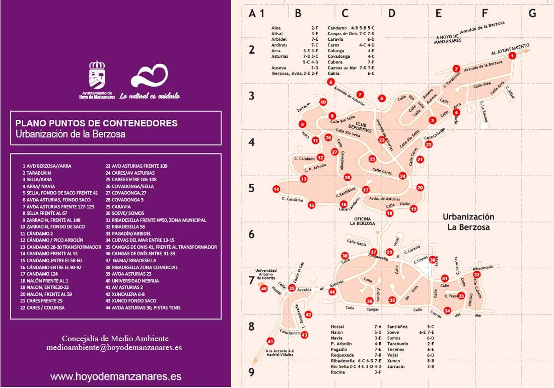 Hoyo de Manzanares presenta su nuevo sistema de recogida de basuras