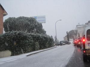 Nevando en Torrelodones