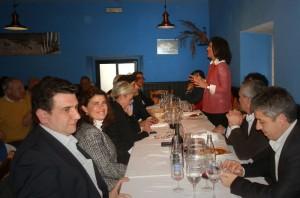 Gádor Ongil en su última intervención como presidenta del PP de Torrelodones