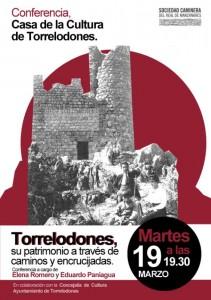 """Conferencia """"El patrimonio de Torrelodones a través de caminos y encrucijadas"""""""