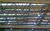 Instalan luces LED en el pabellón principal del polideportivo de Torrelodones