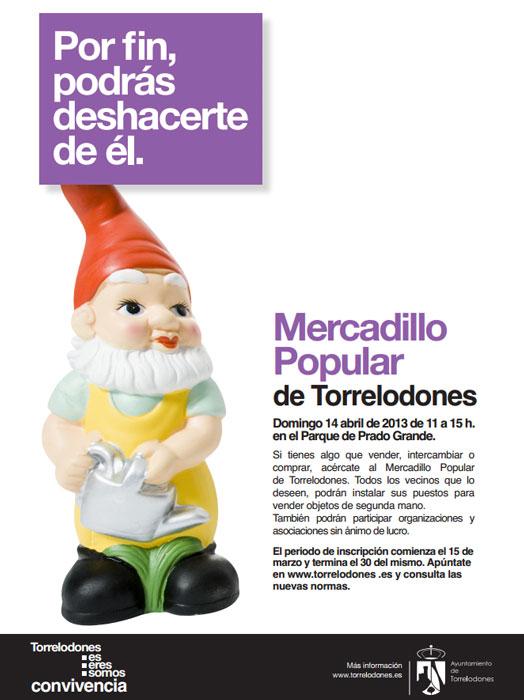 Mercadillo Popular de Torrelodones 14-4-2013