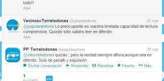 El PP acusa en Twitter a VxT de atribuirse el mérito de una campaña del Ministerio del Interior