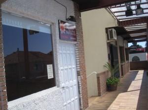 Local de La Gardenia donde consiguieron robar