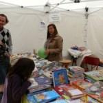 Feria del libro en la Plaza de la Constitución de Torrelodones