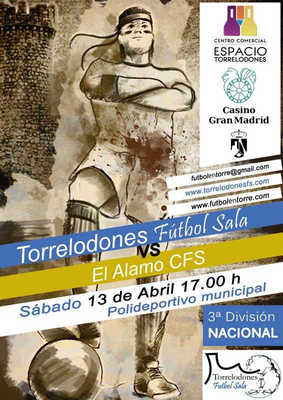 Fútbol Sala: 13 de abril 2013 - Torrelodones FS vs El Álamo CFS