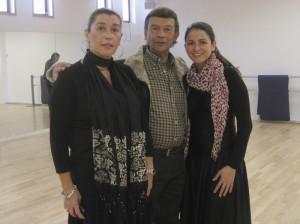 """Esperanza San Román, """"El Güito"""" y Leticia Bailly-Baillière"""