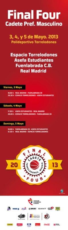 Final Four Cadete Preferente Masculino en Torrelodones Mayo 2013