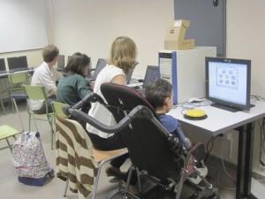 Aula IPI (Informática Para la Integración), Colegio San Ignacio, Torrelodones - Madrid