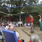 Espectáculo Flamenco en la Residencia Parroquial Ntra. Sra. de los Ángeles, de Torrelodones