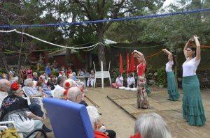 Espectáculo Flamenco en la Residencia Parroquial Santa María de los Ángeles, de Torrelodones