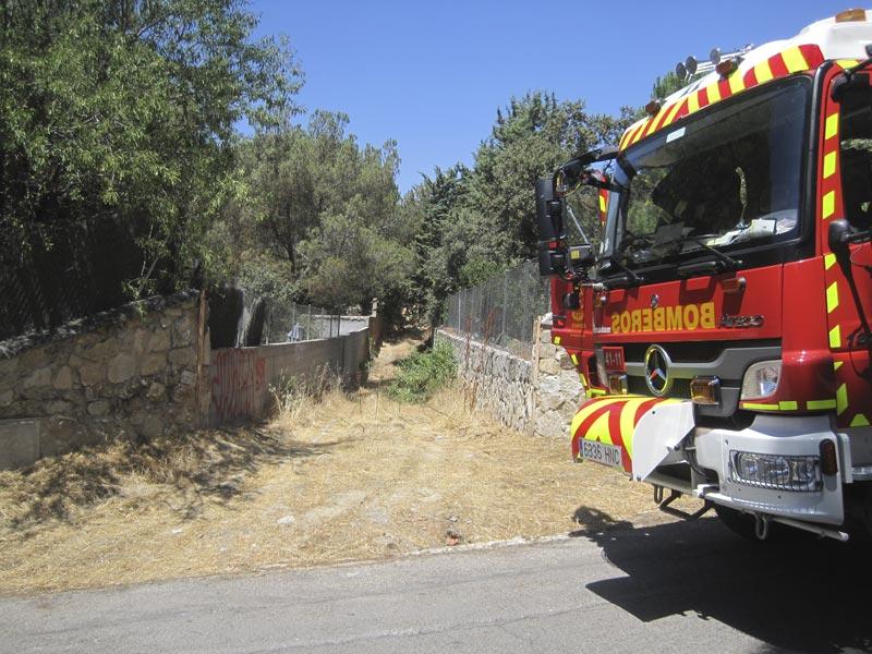 Extractor de humo en Belle Epoque, Torrelodones