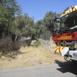 El incendio en La Berzosilla fue controlado por los vecinos