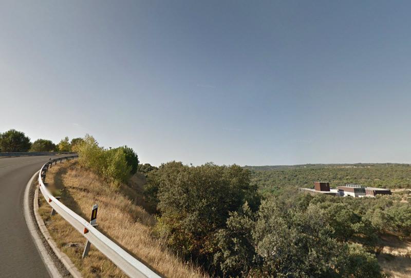 La EDAR Torrelodones-Galapagar, perfectamente integrada en el paisaje junto al río Guadarrama