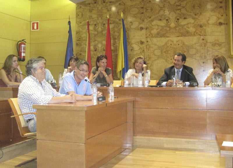 Francisco Carou en el Pleno Extraordinario para comunicar su cese como concejal