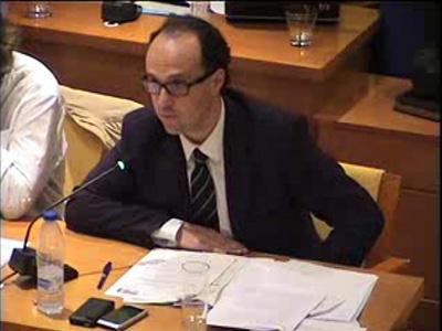 El portavoz del Grupo Municipal del PSOE presenta la Moción al Pleno