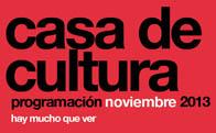 Programación cultural noviembre 2013 Torrelodones