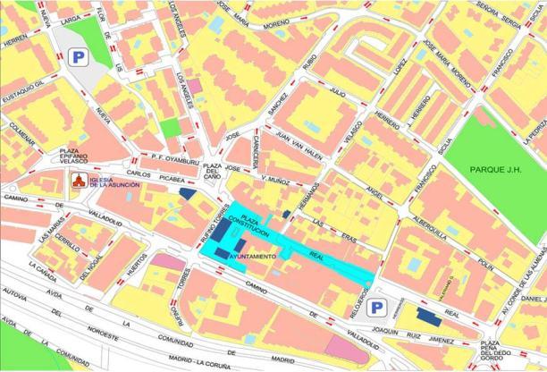 Zona Peatonal de Torrelodones, Sábados y Domingos