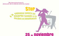 25 de noviembre, Día Internacional para la Eliminación de la Violencia contra las Mujeres