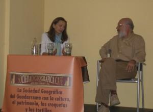 Isabel Pérez y Agustín Martínez Tejeda (Foto: Fernando Villaverde)