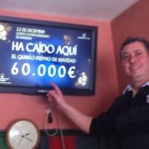 Carlos, Bar Olivas de la colonia de Torrelodones  (Foto: gentileza de Toni)