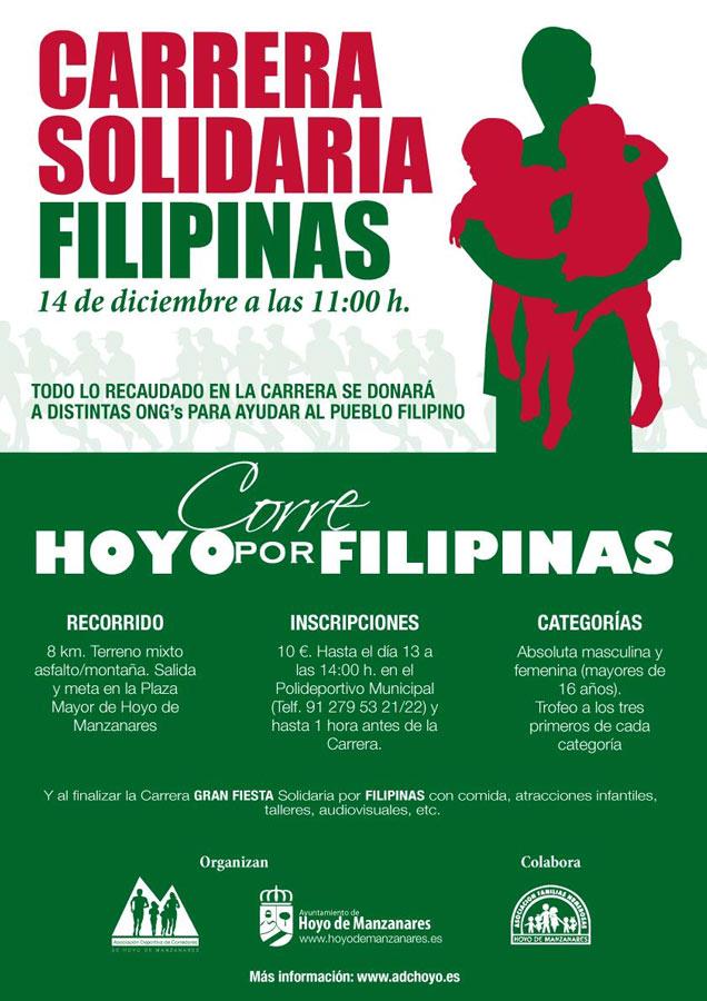 Carrera Solidaria: Hoyo de Manzanares Corre por Filipinas