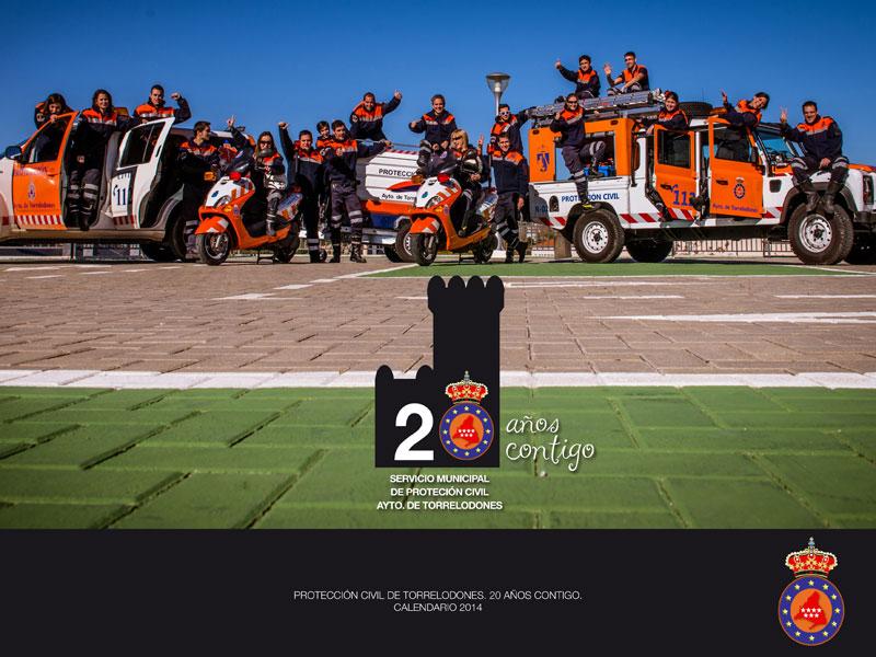 20º Aniversario de Protección Civil en Torrelodones