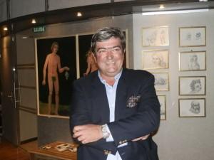 Exposición de Santiago Burgos en Marboré, Torrelodones, diciembre 2013