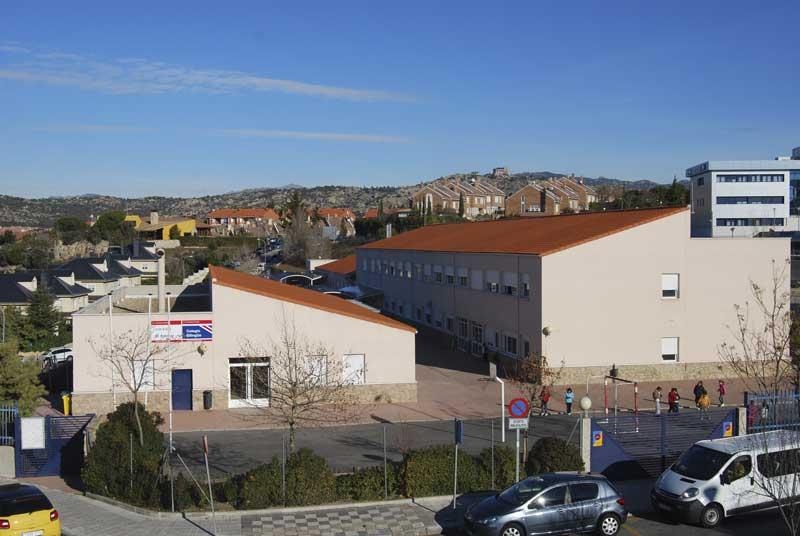 Zona de ampliación del Colegio Público