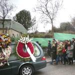 Cortejo fúnebre de Ismael Gonzalez de la Iglesia en Torrelodones