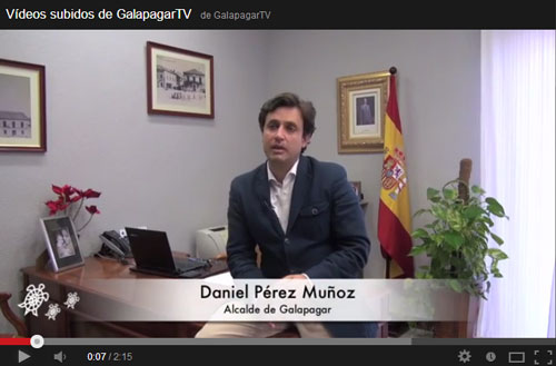 video alcalde galapagar
