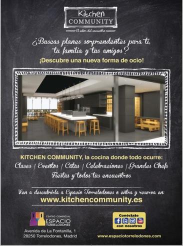 Inauguran Kitchen Community en el Centro Comercial Espacio Torrelodones