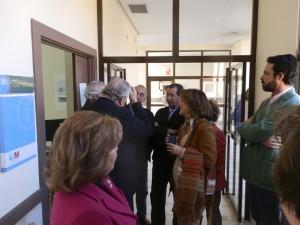 El consejero de  Sanidad visitó el SAR de Torrelodones
