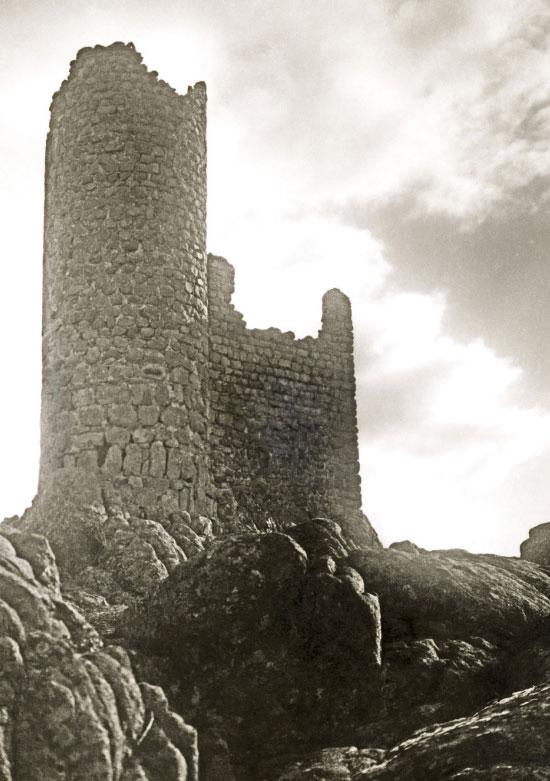 La Atalaya de Torrelodones antes de su reconstrucción