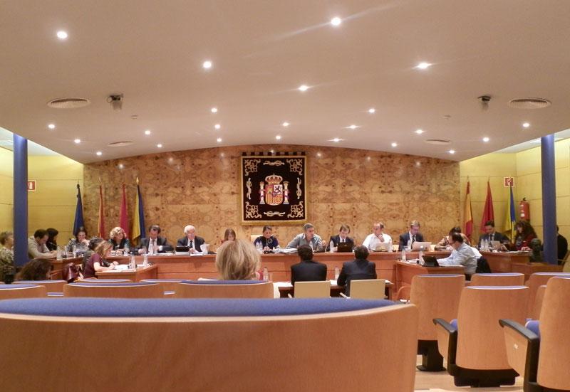 Pleno del Ayuntamiento de Torrelodones (Foto de Archivo)