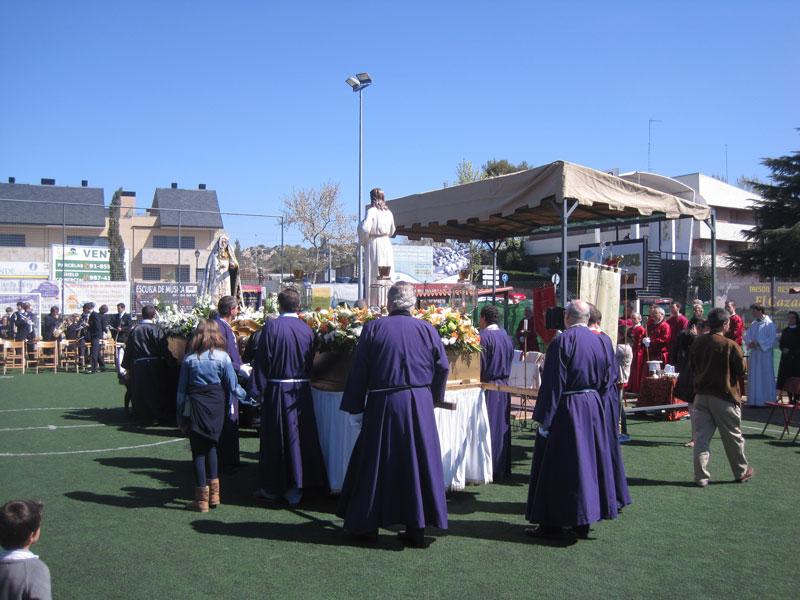 Domingo de Resurrección, Torrelodones 2012