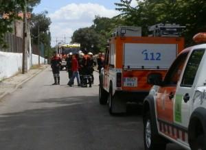 Protección Civil de Torrelodones y Bomberos de la Comunidad de Madrid