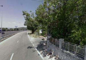 Entrada a La Berzosilla desde la A-6 (Foto de Archivo)