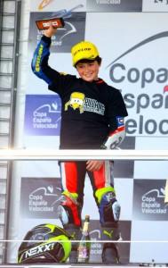 """Manuel González Simón, alias """"Manugasss""""; levanta el trofeo tras triunfar en Jerez"""