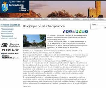 """Nota del Ayuntamiento de Torrelodones que los populares consideran un ejemplo de """"manipulación"""""""